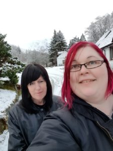 Susannah and Karina
